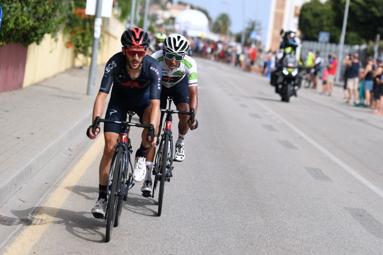 The Ineos Grenadiers leaders at the Vuelta a España