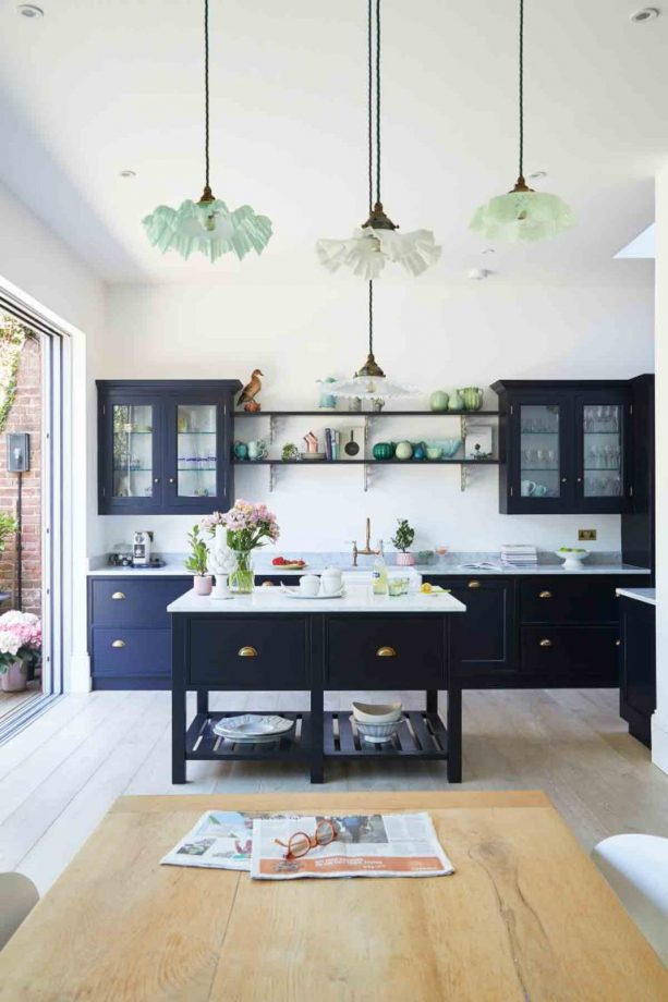 Kitchen Room Interior Design: Navy Blue Walls: The Best Shades Of Navy Blue And Where To