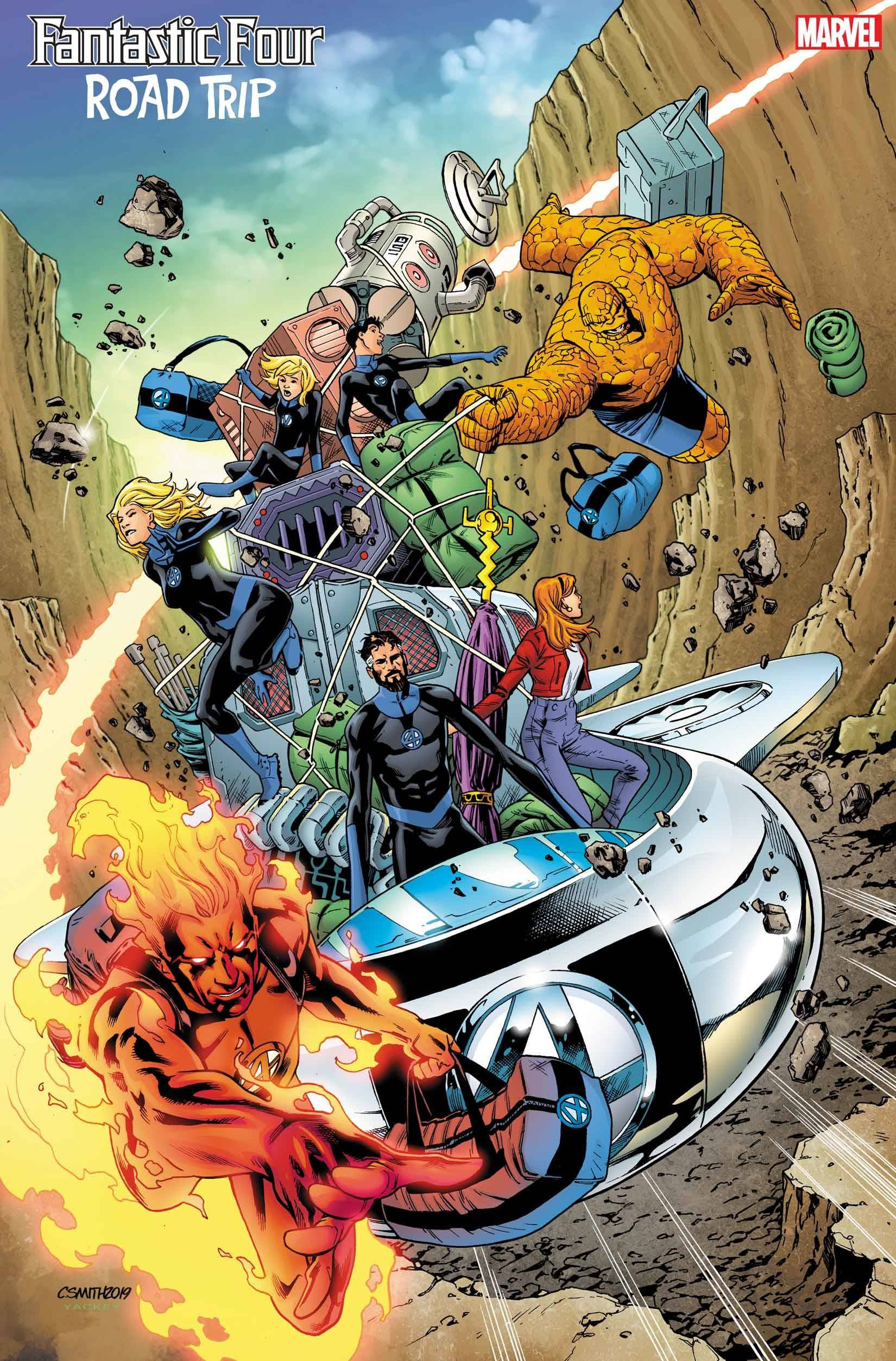 Fantastic Four: Road Trip #1