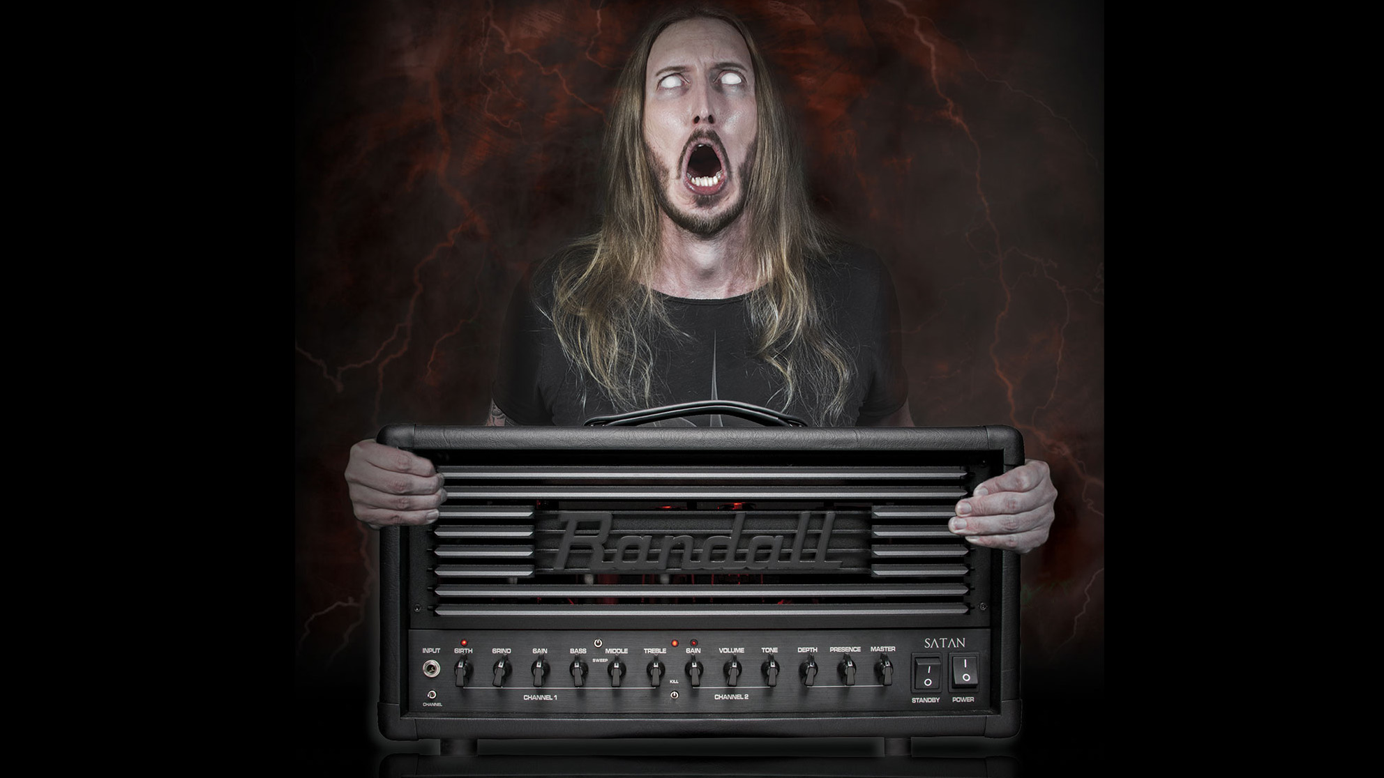 """NAMM 2018: Randall writes """"the next chapter of metal history"""" with"""