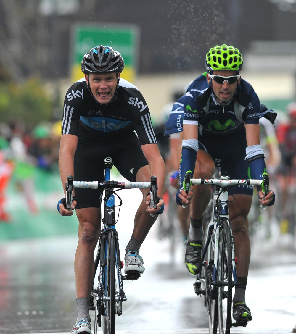 Chris Froome finishes in eighth spot, Tour de Romandie 2011, stage one