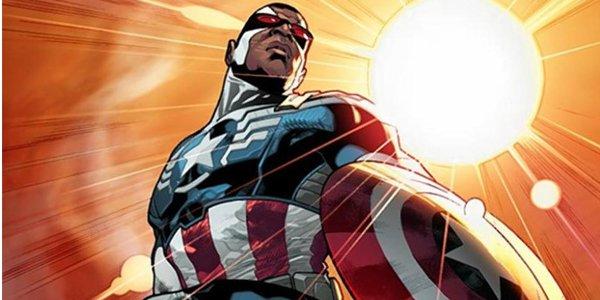 Sam Wilson sebagai Captain America