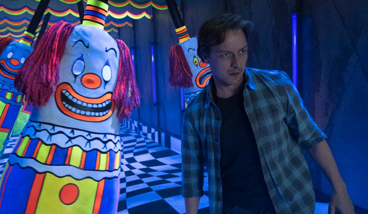 it chapter two bill inside the funhouse clown room