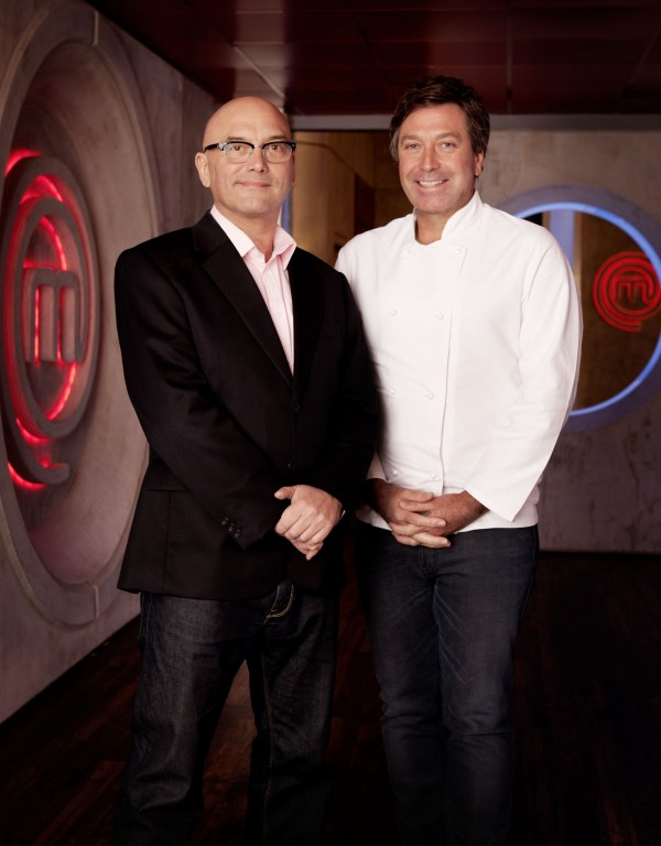 John Torode and Gregg Wallace in BBC One's MasterChef