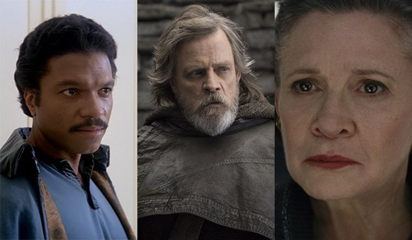Lando, Luke and Leia