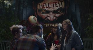 An attraction turns deadly in 'Hell Fest.'