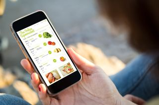 online grocery shopping, grocery, iphone, smartphone, shopping