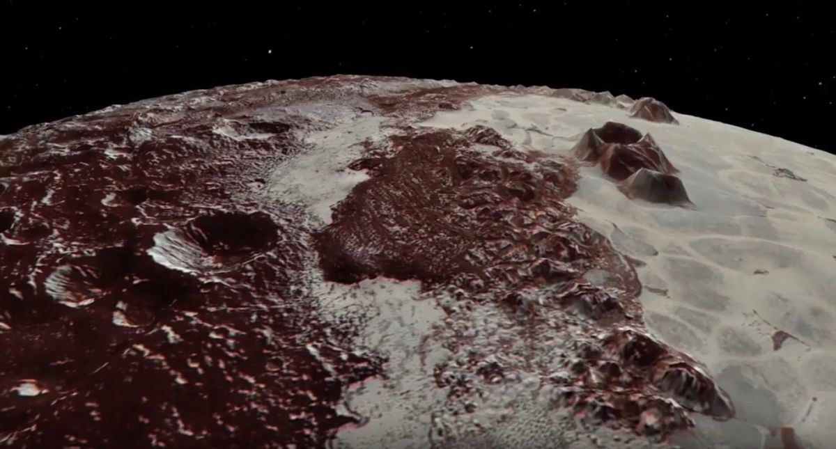 Kerberos Moon Of Plluto: Soar Over Pluto And Charon In Dazzling New Horizons