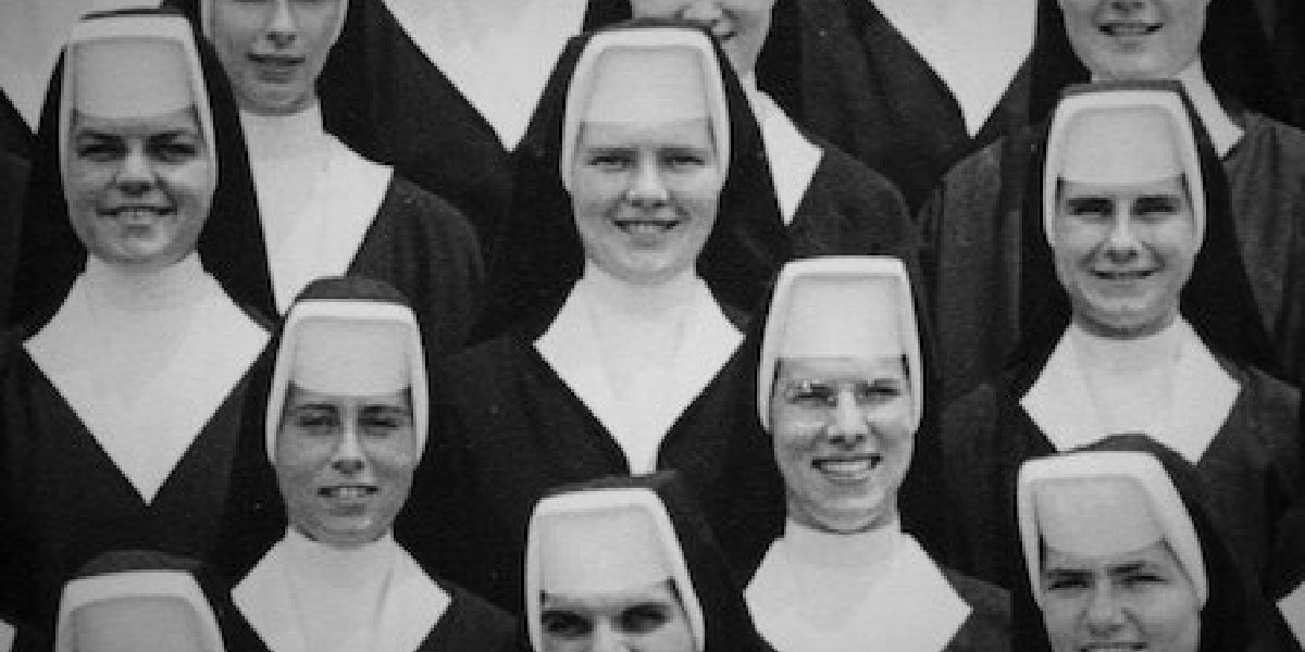 An older picture of Sister Cathy in The Keepers on Netflix.