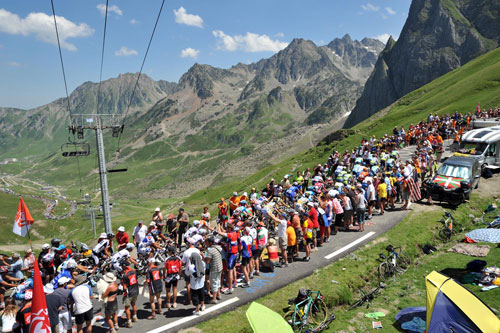 Col du Tourmalet, Tour de France 2009, stage 9