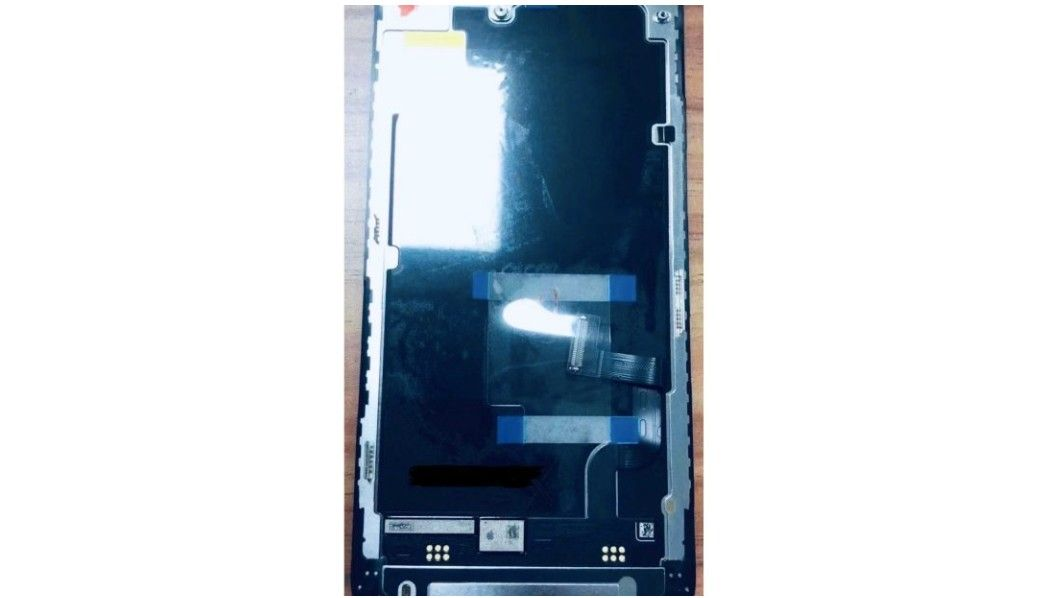 OLED display for Apple's standard 'iPhone 12' found in leaked image