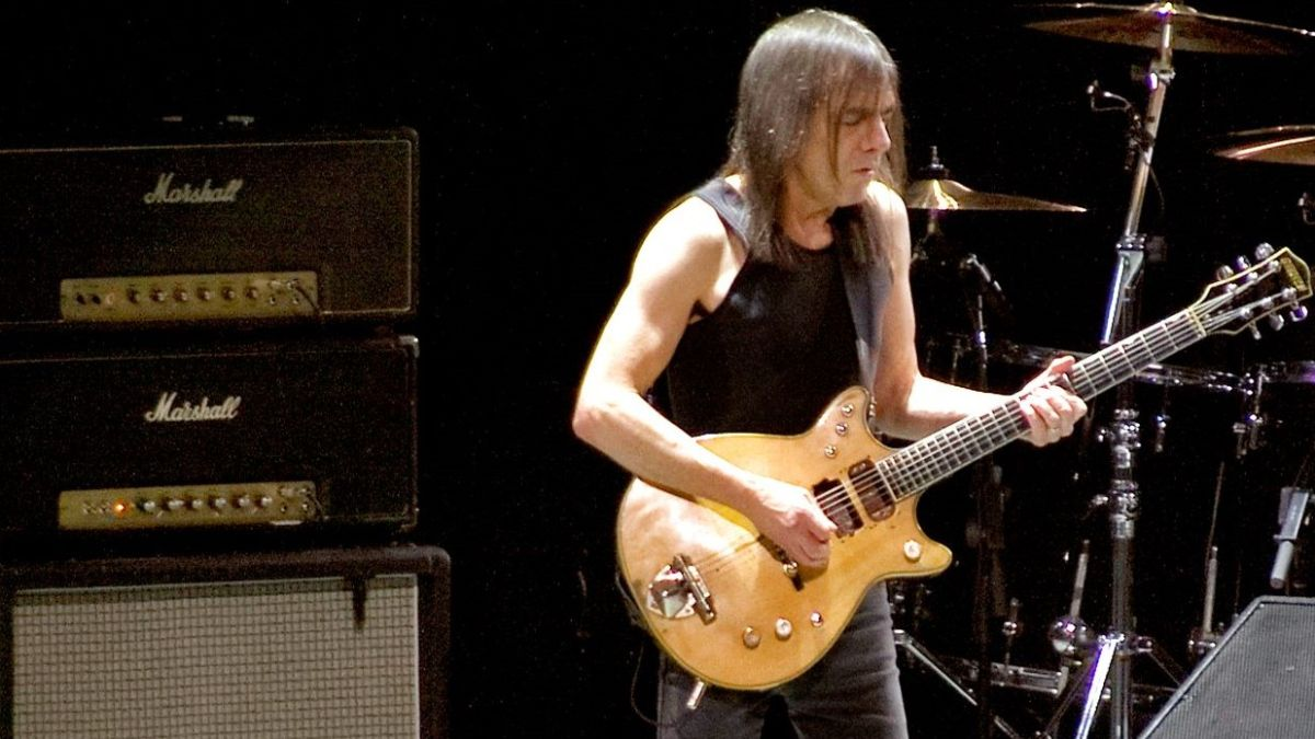 Listen to Malcolm Young's Definitive Rock 'n' Roll Guitar Tone