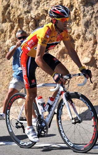 Alejandro Valverde, Vuelta a Espana 2009, stage 11
