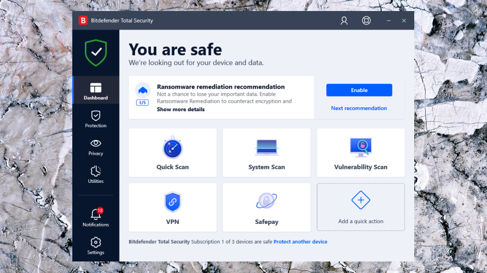 Internet Security Dashboard
