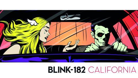Blink-182 California album cover