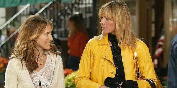 Carrie and Samantha in New York
