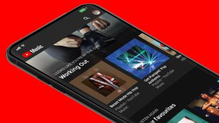 YouTube Music on smartphone