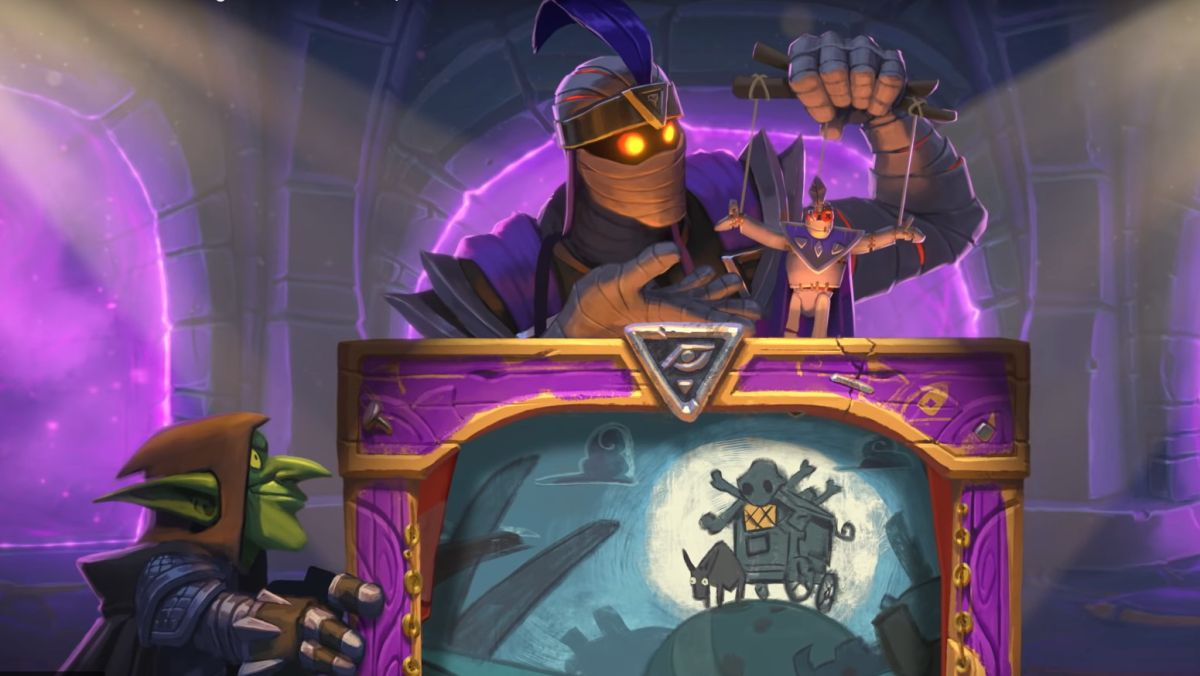 Hearthstone's new solo adventure Galakrond's Awakening is live