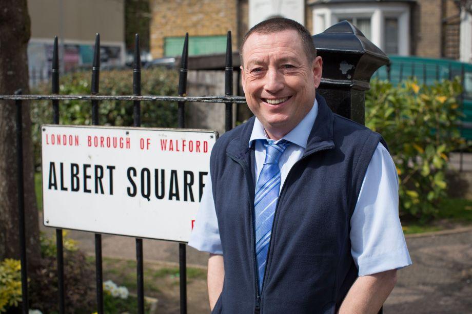 Lee MacDonald as Terry in EastEnders