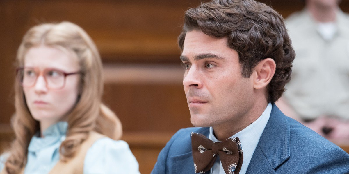 Zac Efron as Ted Bundy in Extremely Wicked, Shocking Evil and Vile