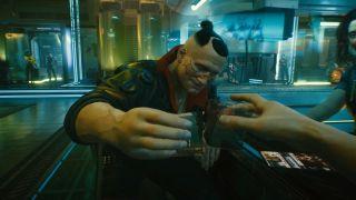 Cyberpunk bar