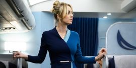 Big Bang Theory Alum Kaley Cuoco Hilariously Recalls Performing Her First Sex Scene For The Flight Attendant