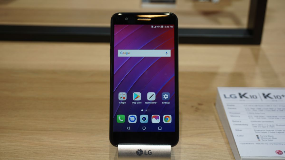Lg K10  2018  Hands On Review
