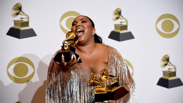 Lizzo at 62nd Grammy Awards