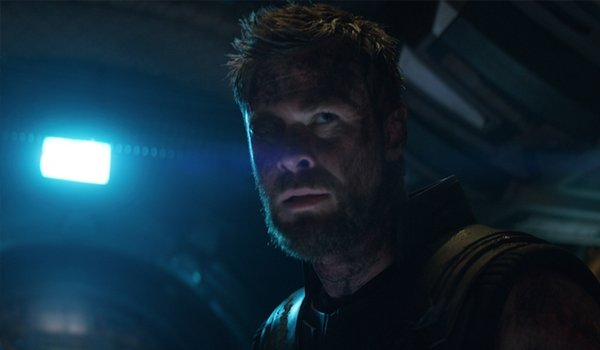 chris hemsworth Thor Avengrs Infinity War