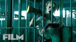 Harley Quinn behind bars in Birds of Prey