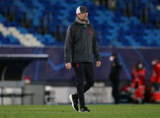 Real Madrid v Liverpool – UEFA Champions League – Quarter Final – First Leg – Alfredo Di Stefano Stadium
