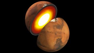 Mars' core has long thought to be comprised of iron-sulfur.