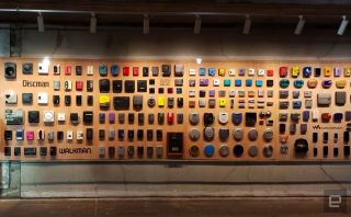 Sony's Walkman Wall to celebrate the 40th anniversary of the iconic player