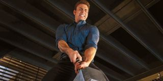 Avengers: Age Of Ultron Captain America tries to lift Mjolnir