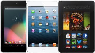iPad Mini (Retina) vs  Nexus 7 vs  Kindle Fire HDX | Top Ten