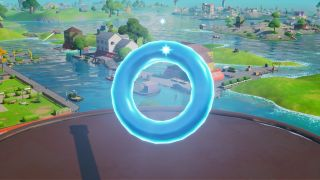 Fortnite Floating Rings at Pleasant Park locations