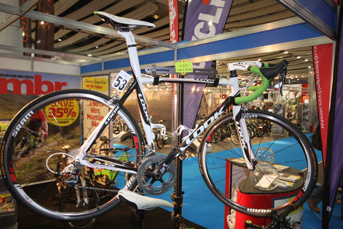 Look comp bike at Cycle Show 2010