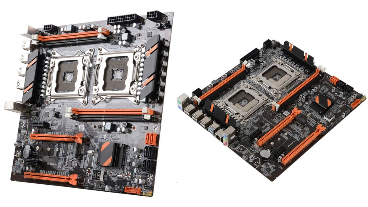 This extraordinary motherboard is being used by server CPU scavengers