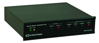 Crestron QuickMedia Transmitters Now Shipping