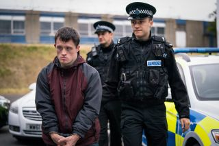 Terry Boyle and Ryan Pilkington in Line of Duty