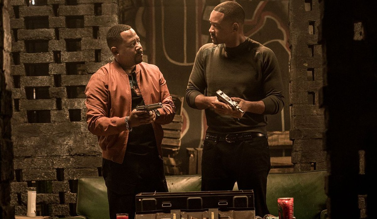 Bad Boys For Life Martin Lawrence and Will Smith loading their guns
