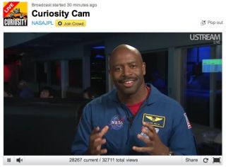 mars curiosity ustream