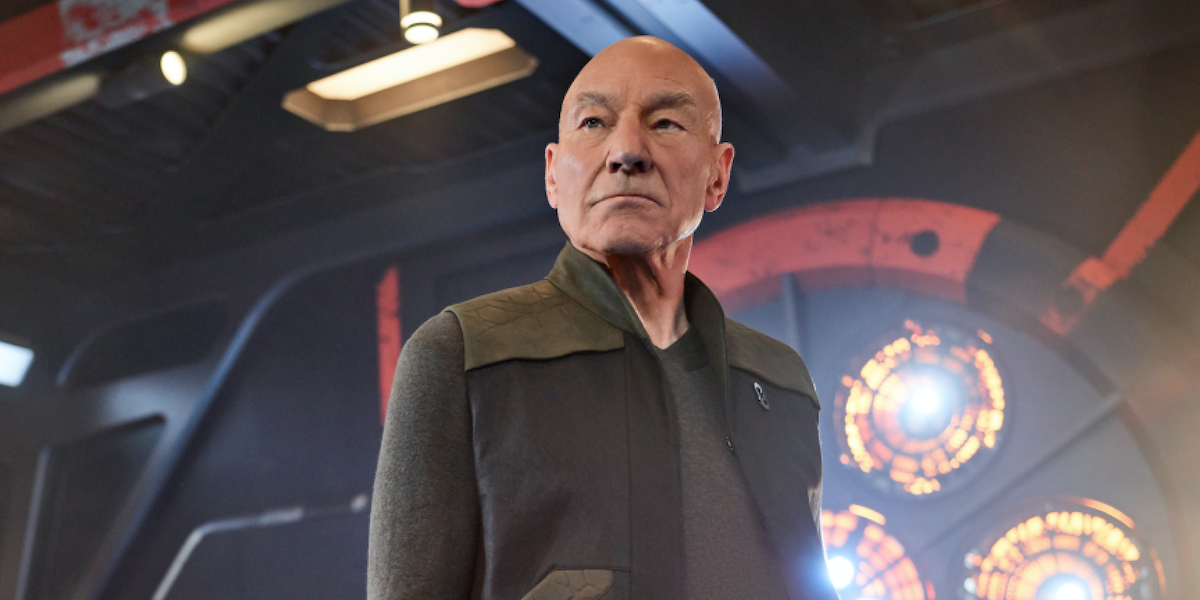 Star Trek: Picard Patrick Stewart Jean-Luc Picard CBS All Access