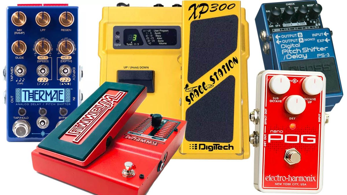 5 great pitch shifting pedals guitarists need to try