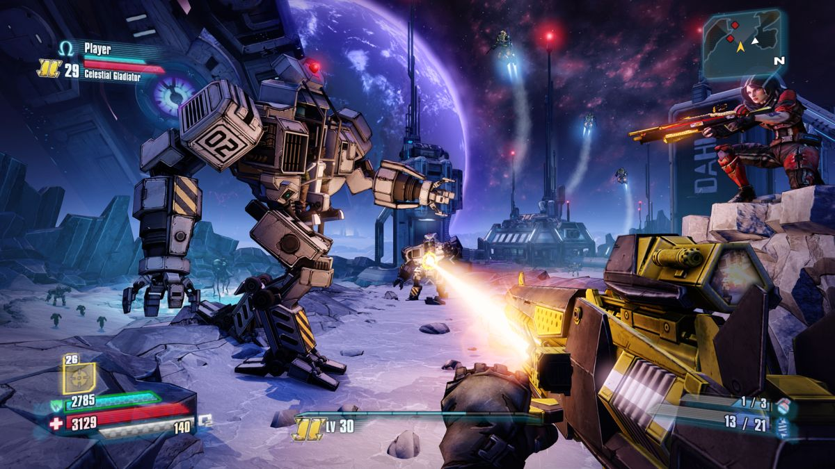 Borderlands 2 and The Pre-Sequel are getting free 4K texture packs