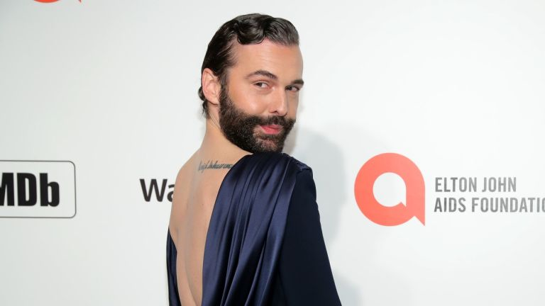Jonathan Van Ness at 28th Annual Elton John AIDS Foundation Academy Awards Viewing Party