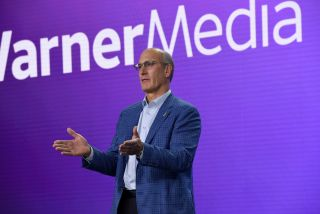 John Stankey, AT&T Chief Operating Officer and CEO of WarnerMedia, during WarnerMedia's 2020 press day.