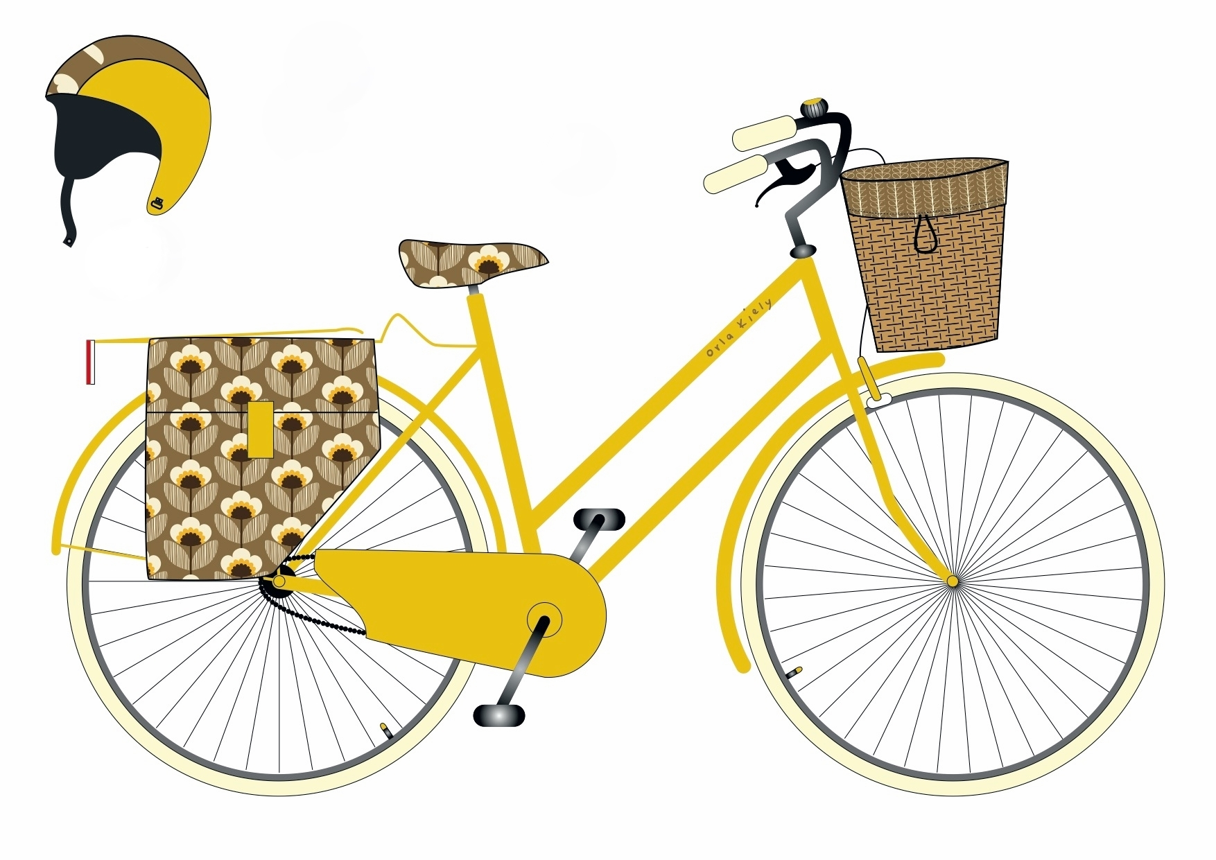 orla_kiely_dream_bike_sketch