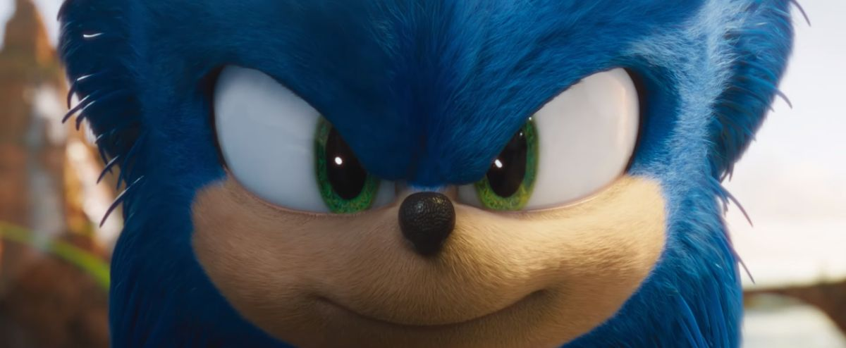 New Sonic the Hedgehog face