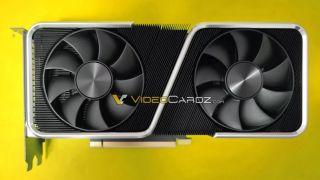 render image of the Nvidia GeForce RTX 3060 Ti